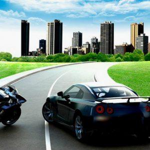 Diferencias de conducir moto y coche