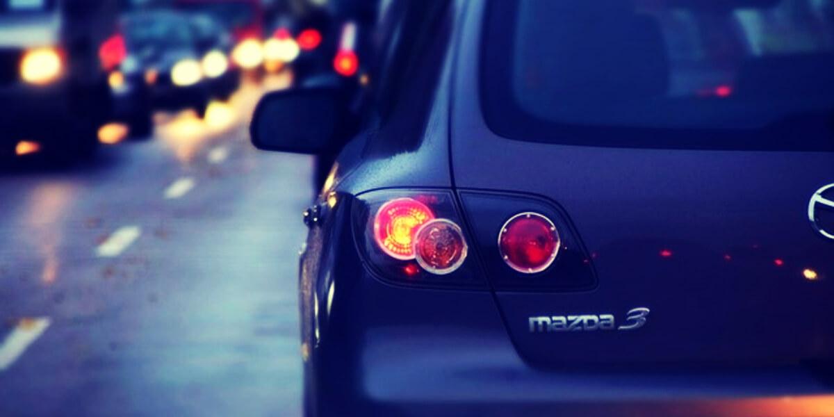 coche intermitente